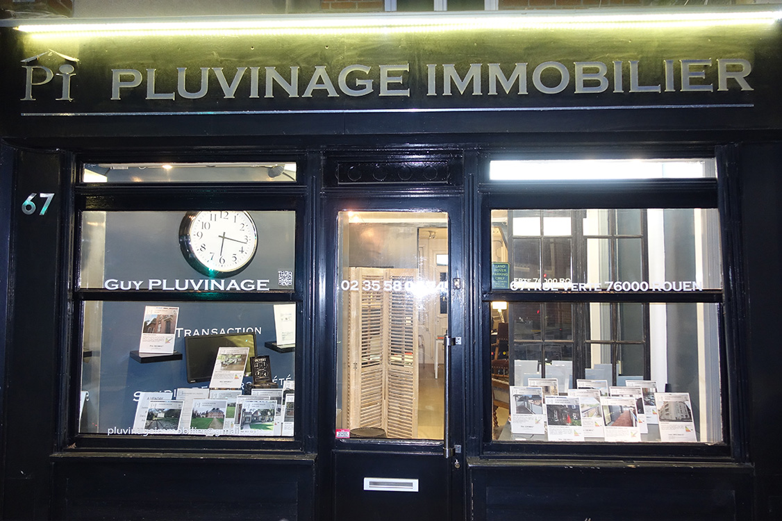 agence pluvinage immobilier